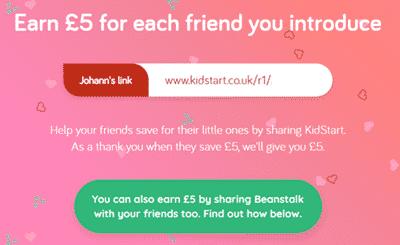 referral program of kidstart