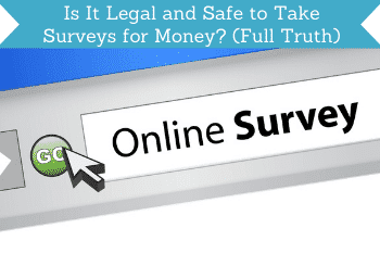 is it legal and safe to take surveys for money header