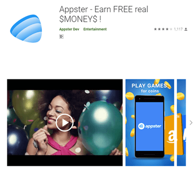 appster app page