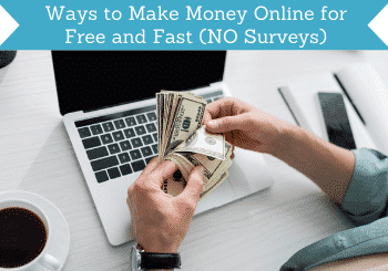ways to make money online for free and fast no surveys header