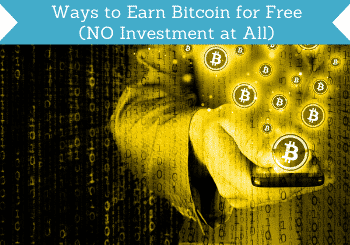 ways to earn bitcoin for free header