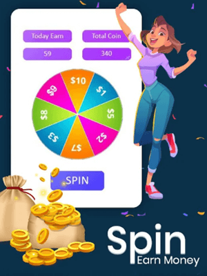 spin the wheel game on vidcash