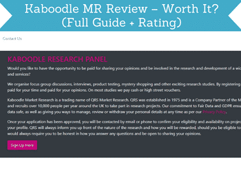 kaboodle mr review header