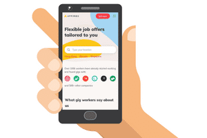 mobile site of appjobs